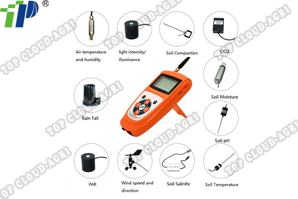 TNHY Series Handheld  Wireless Weather Stastion Mornitor