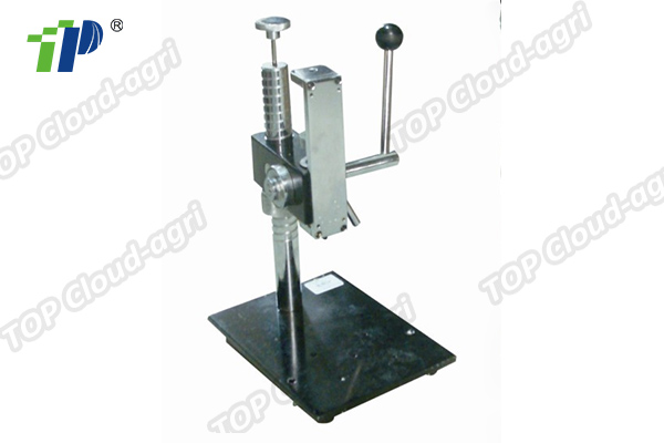 Fruit hardness tester stand