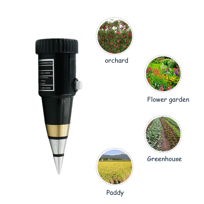Why design soil pH meter when soil pH detection method is available?