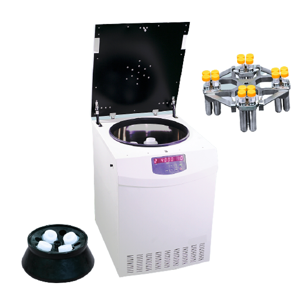 Large Capacity Centrifuge With Easy Replace Rotor